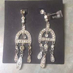 Banana Republic rhinestone earrings